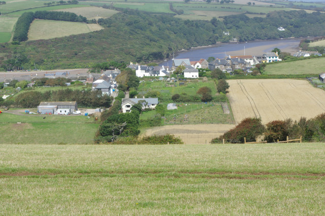 Bantham and the River Avon
