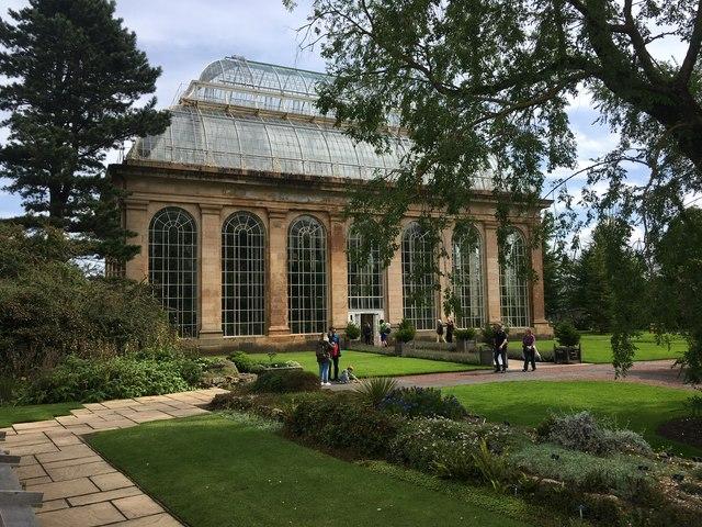 The Palm House Royal Botanic Garden Edinburgh