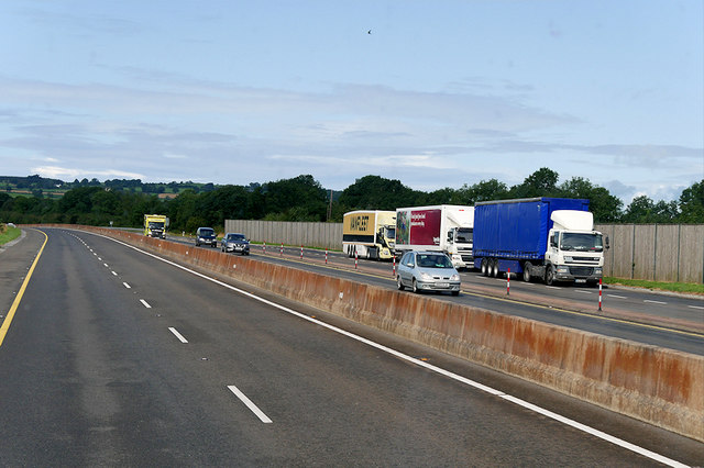 Parking Area on the M7 at Derrymore
