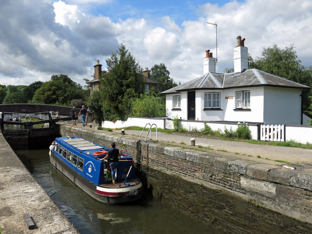 Stocker's Lock and the Lock Keeper's cottage