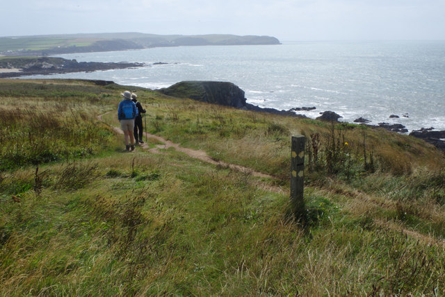 Coast path near Thurlestone