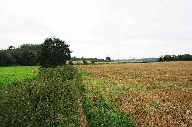 Public bridleway to Larford Lane, Areley Kings, Stourport-on-Severn, Worcs