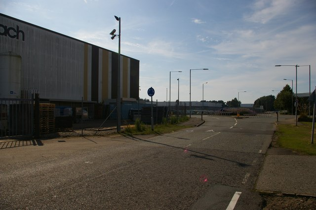 Central Avenue, Ransomes Europark, Ipswich