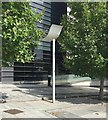 SP0786 : Lighting column, Albert Street, Birmingham by Robin Stott