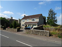 ST8080 : House on The Street, Acton Turville by JThomas