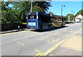 SO2508 : X24 Stagecoach Gold bus on the B4246, Blaenavon by Jaggery