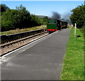 SO2508 : Arrival at Blaenavon High Level Station by Jaggery
