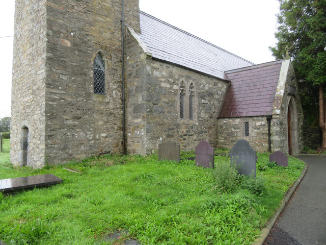 The Church of the Holy Cross, Llannor