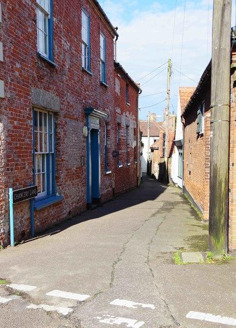 Chancery Lane, Wells-Next-The-Sea, Norfolk