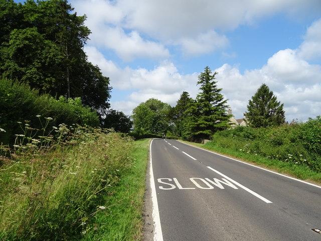 B4040 near Newhouse Farm