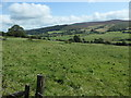 SJ1849 : Route of the footpath from Caemawr to Pentrebwlch by Christine Johnstone