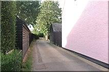 TL2572 : School Lane, Hartford by David Howard