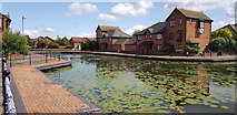 SO9691 : Tividale Quays Basin by Paul Collins