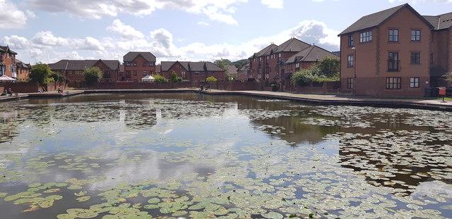 Tividale Quays Basin, Tipton