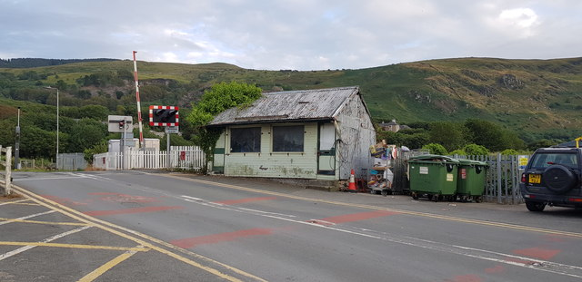 Beach Road Level Crossing at Fairbourne
