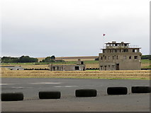 NO6209 : Control Tower, Crail Disused Airfield by Andrew Curtis