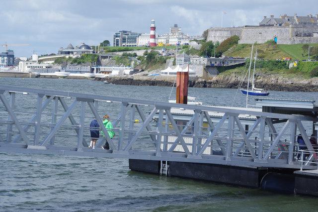 Mount Batten Ferry Pontoon
