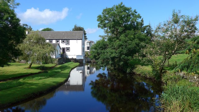 Reflections in a millpond