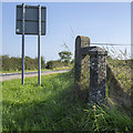 J5673 : GPO Cable Marker near Carrowdore by Rossographer