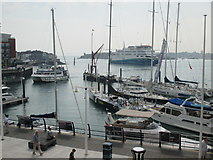 SZ6299 : Busy Boats in Portsmouth Harbour by Rib
