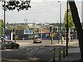 SP0786 : Moor Street Queensway, Birmingham – HS2  site hoarding by Robin Stott
