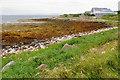 ND4394 : Rocky shore by Mayfield by Bill Boaden