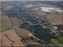 TQ5571 : South Darenth from the air by Thomas Nugent
