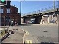 SP0786 : HS2 site, Eastside, Birmingham – closed section of Fazeley Street by Robin Stott