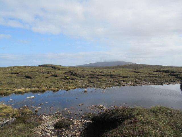 Moorland near Esha Ness