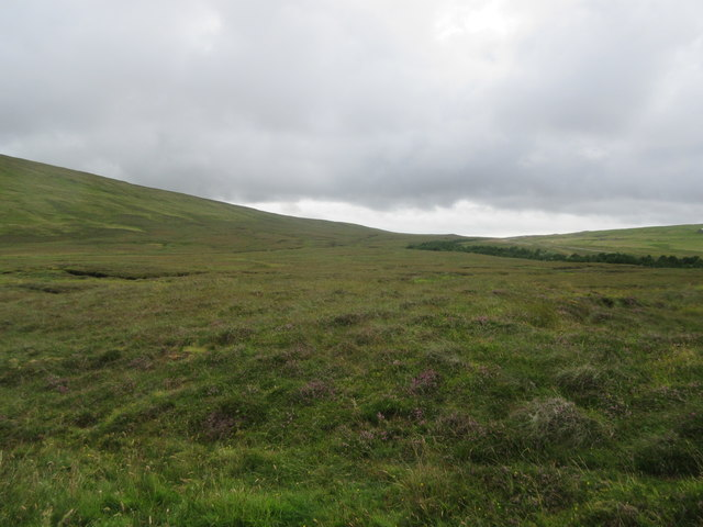 Moorland on west side of Faan Hill