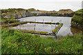 ND4193 : Former quarry near Uppertown by Bill Boaden