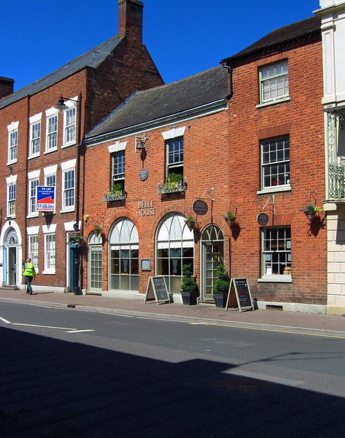 Belle House, 5A Bridge Street, Pershore, Worcs
