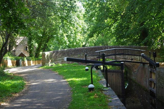 St John's Bottom Lock, Basingstoke Canal