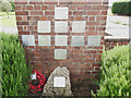 TF0078 : Memorial to the lost crews at RAF Dunholme Lodge by Adrian S Pye