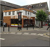 SS9079 : Ty Coffi in Bridgend town centre by Jaggery