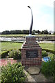 TF4820 : RAF Sutton Bridge memorial by Adrian S Pye