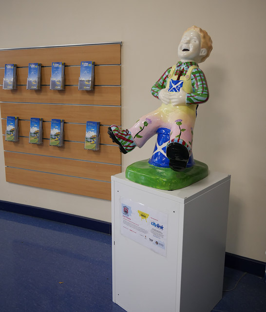 Wee Oor Wullie, Inverness Bus Station