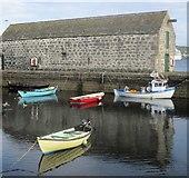 HU4741 : Lerwick harbour by Ceri Thomas