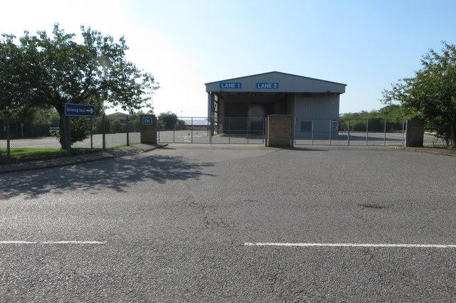 HGV driving test centre