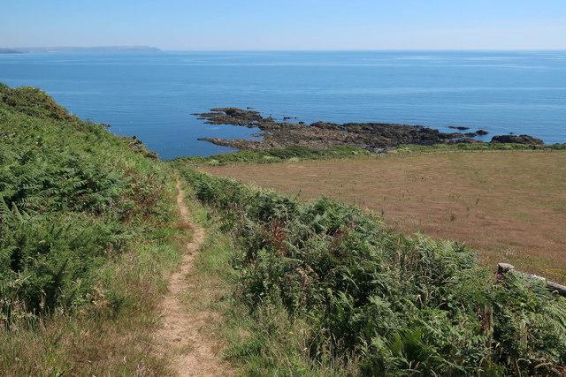 Path to Wadham Beach