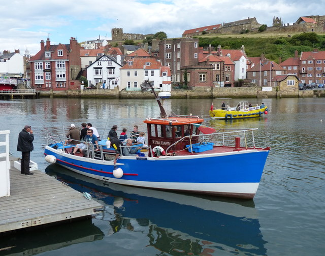 Tina Dawn in Whitby Upper Harbour