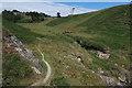 SX6046 : South West Coast Path round Bugle Hole by Hugh Venables