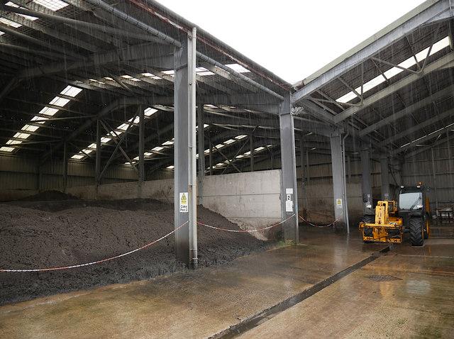 Cake storage facility, Allanfearn WWTW