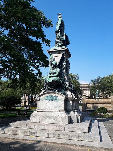 Gladstone Memorial, St John's Garden, Liverpool