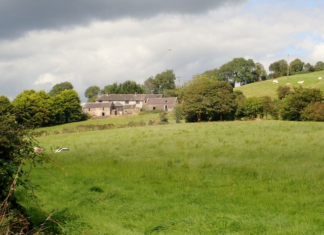 Farmhouse and outbuildings on the Kiltybane Road