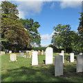 TL4748 : Whittlesford churchyard in late summer by John Sutton