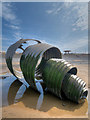 SD3143 : Mary's Shell, Cleveleys Seafront by David Dixon