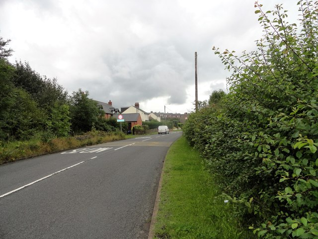 Coming into Craghead from the east