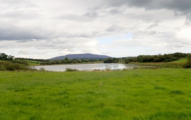 Cullyhanna Lough viewed from the Lake Road