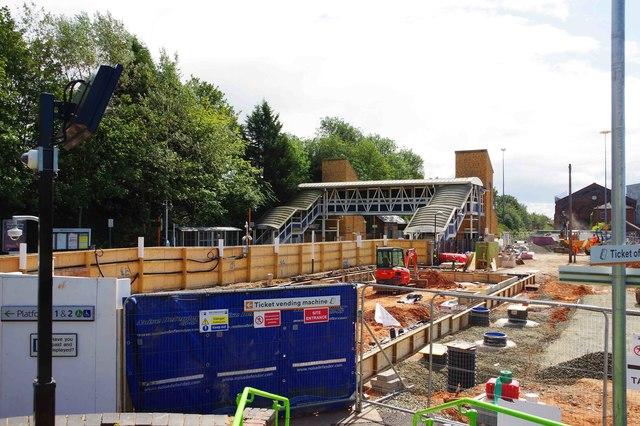 The rebuilding of Kidderminster Railway Station (1), Kidderminster, Worcs